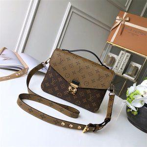 NWT Louis Vuitton Pochette Metis Strap Totes Bags